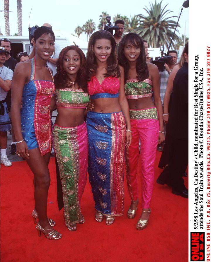 Destiny's Child in 1998.