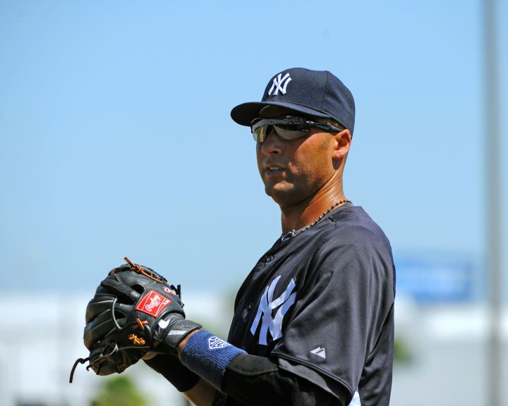 This career New York Yankee takes practice very seriously.