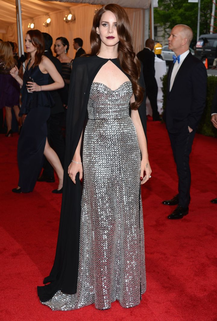 Cape chic at the Met Ball.