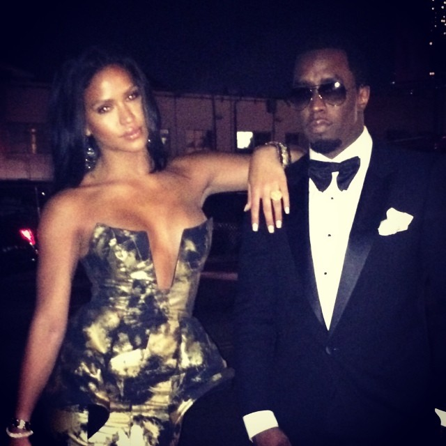 They have arrived. These two stuntin' on 'em at the 2014 Golden Globe Awards.
