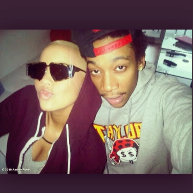Amber and Wiz's first photo together!