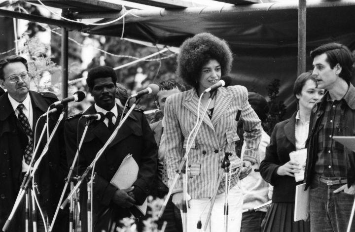 Her mother, Sallye Davis, was a leading organizer of the Southern Negro Congress. Activism literally runs through Angela's veins.