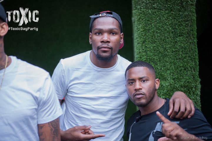 kevin durant toxic day party