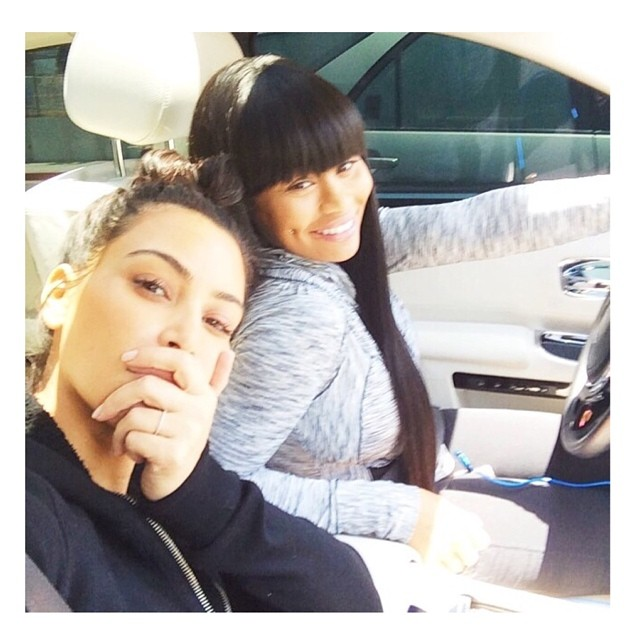 Kim Kardashian and Blac Chyna are MILFs with or without makeup.