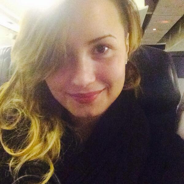 Demi Lovato's bare face is captivating.
