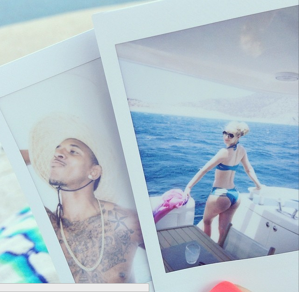 Iggy Azalea and Nick Young take a break from their busy schedule to go on vacation.