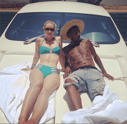 Iggy Azalea and Swaggy P nick young