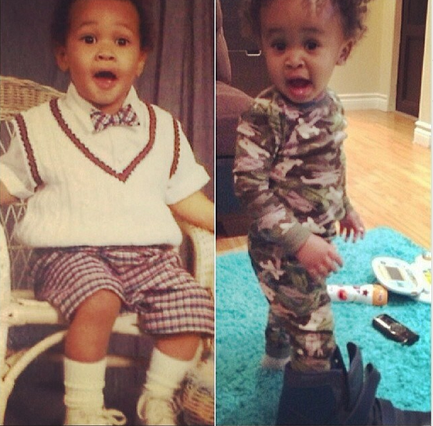 We're seeing double! On the left is Tyga and on the right is King Cairo – double the handsomeness.