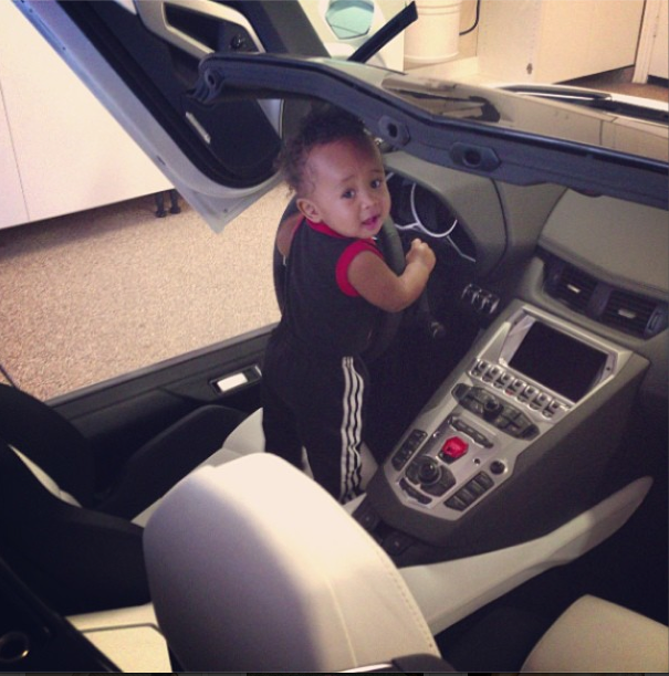 He's ready for his license.