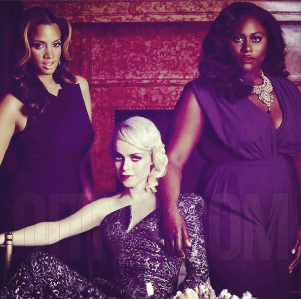 Daya, Pennsatucky, and Taystee Looking Glorious.