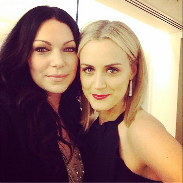 Alex & Piper… Doesn't Piper (Taylor Schilling) Kind Of Look Like A Blonde Katy Perry?