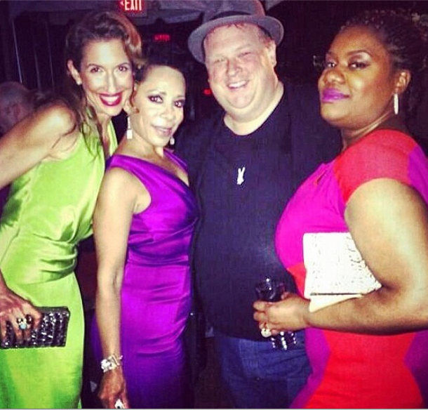 "Figueroa, Gloria, Officer O'Neill, and Black Cindy At The ""OITNB"" Premiere."