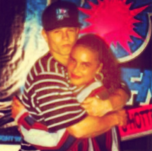 """Angie Martinez & Mark Wahlberg When He Was """"Marky Mark."""""""