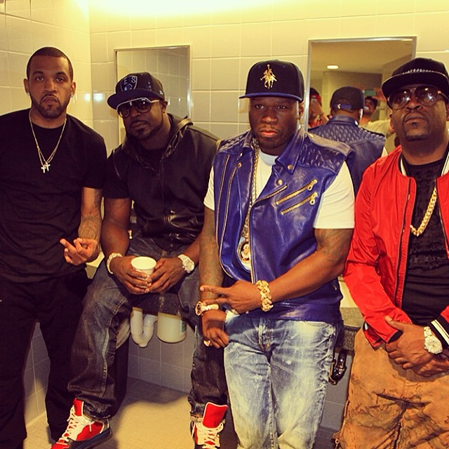 50 Cent reunited with G-Unit.