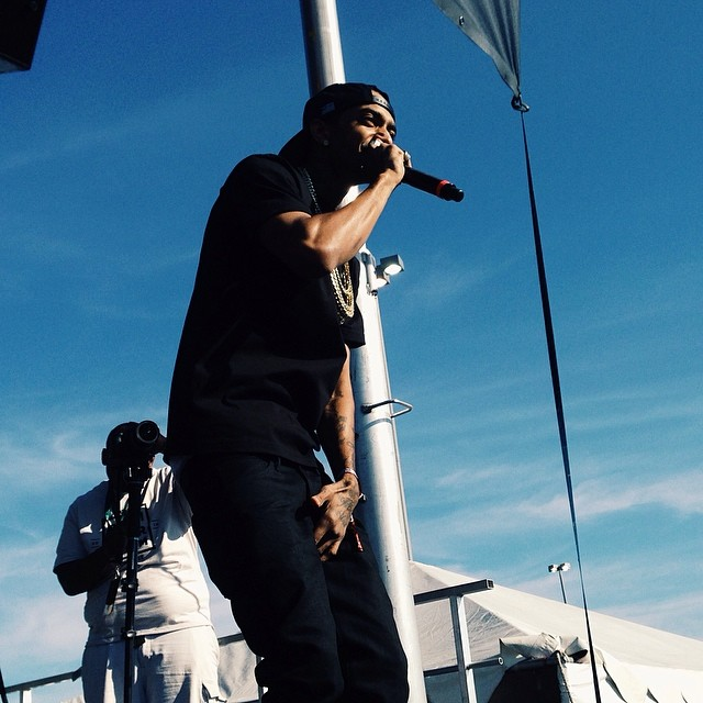 Nipsey Hussle took the stage at Summer Jam 2014.