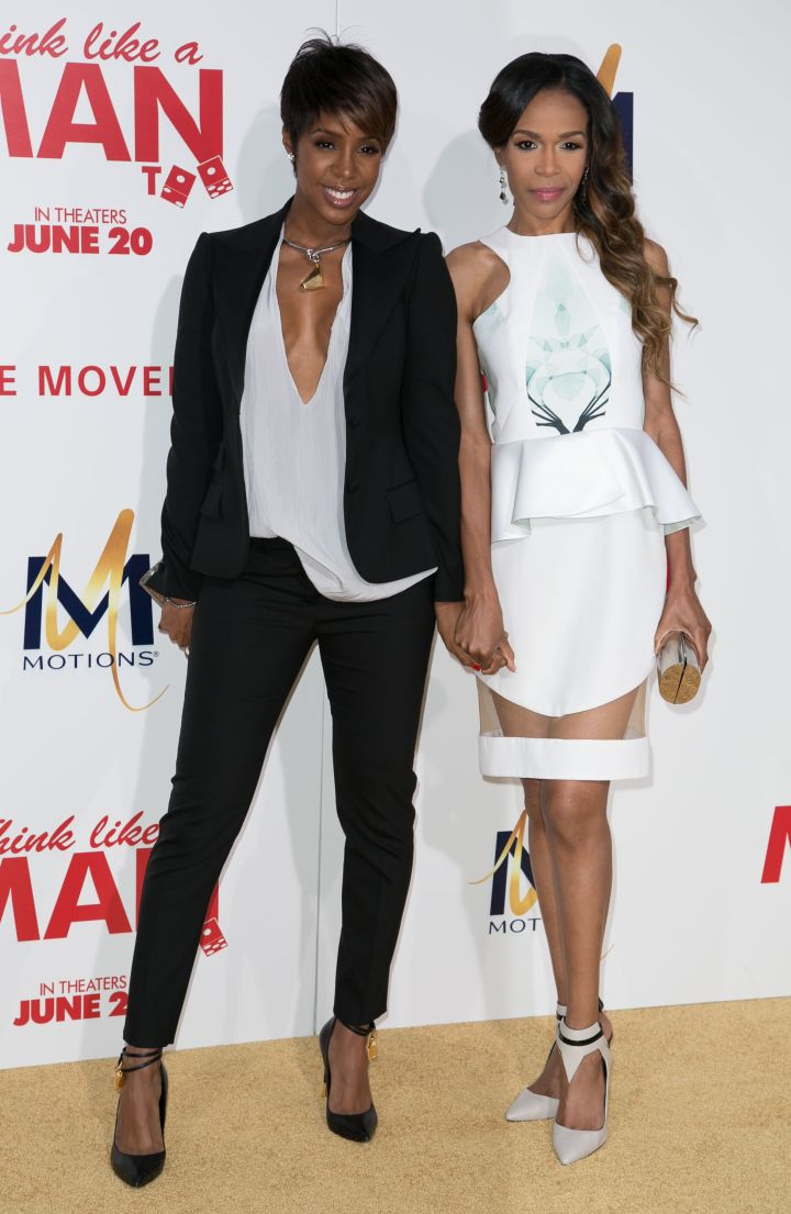 Two of Destiny's children, Kelly Rowland & Michelle Williams, reunited on the red carpet.