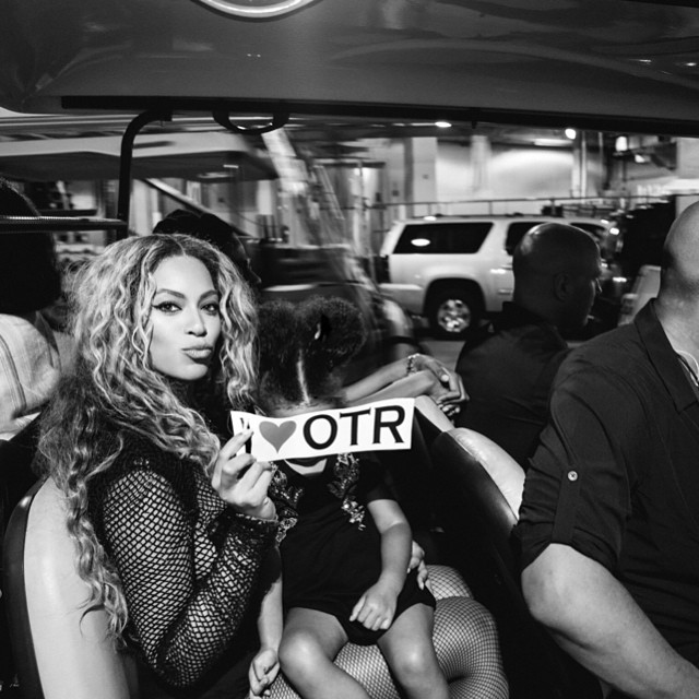 OTR with Blue Ivy in the cut.