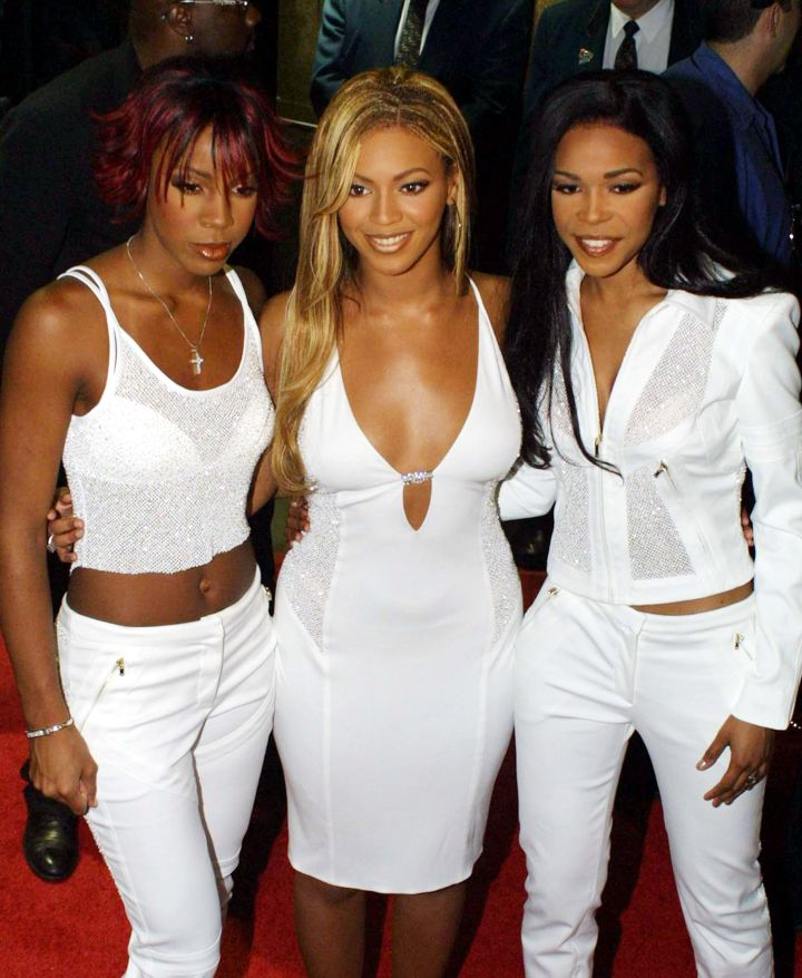 That time Destiny's Child wore white after Labor Day in 2001.