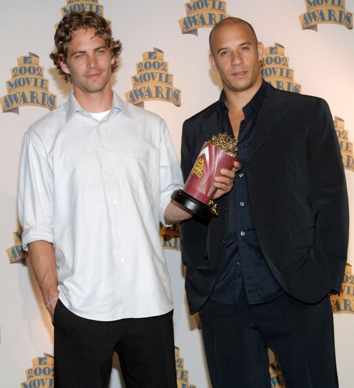 In this throwback to the 2002 MTV Movie Awards red carpet, Vin and the late Paul Walker were definitely crush-worthy.