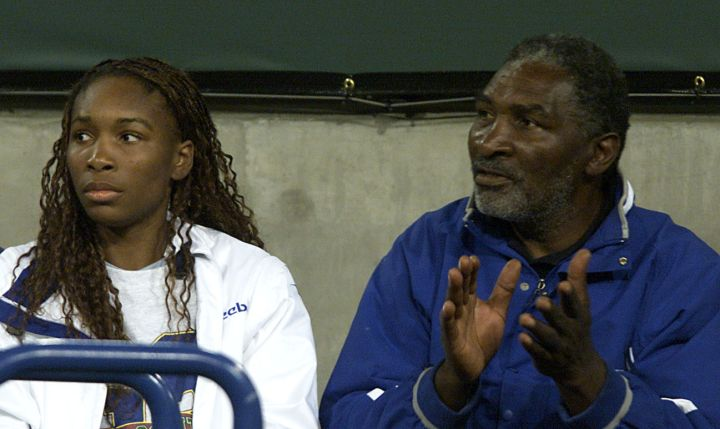 In 2001, Venus and Richard were watching… tennis of course!