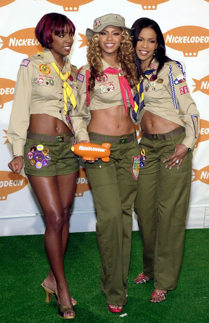 Brief stint as boy scouts in 2001.