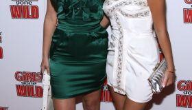 Kim Kardashian and Adrienne Bailon together red carpet 2008