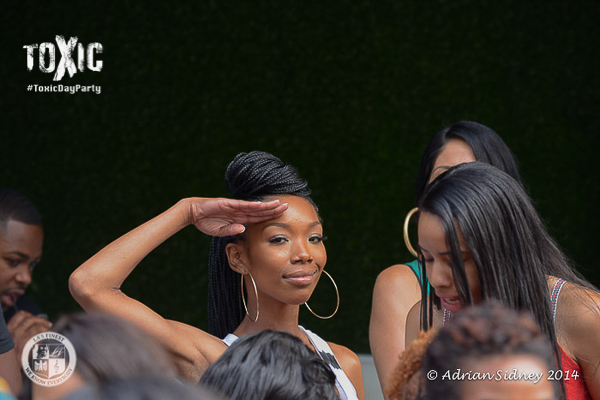 Brandy at Toxic Day Party.