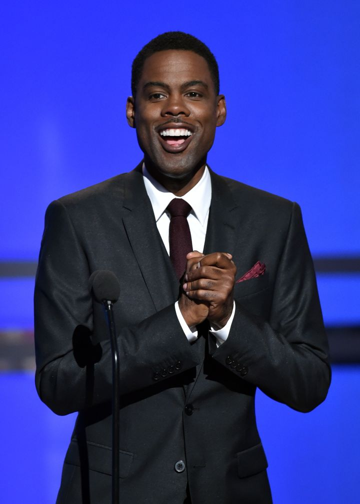 As a teen, Chris Rock worked at Red Lobster as a waiter.