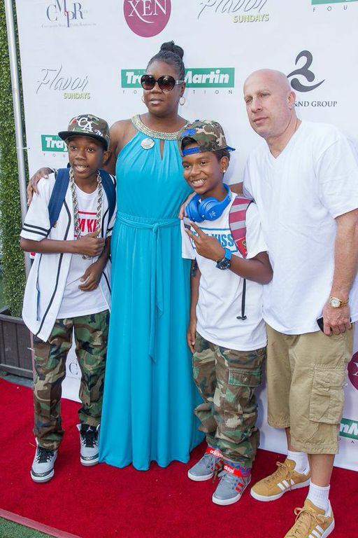 DJ Kiss, Sybrina Fulton & Steve Lobel