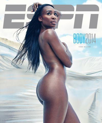Venus Williams espn magazine body issue 2014