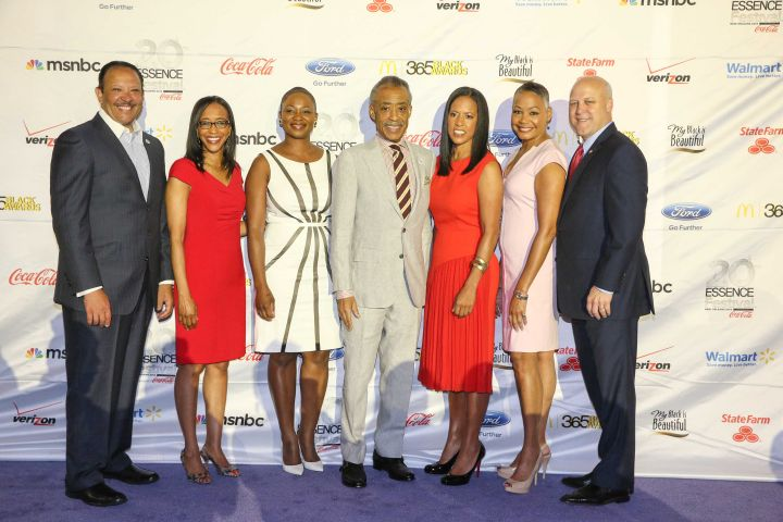 Rev. Al Sharpton, Essence President Michelle Ebanks and more gather for the Essence Festival Kick-Off Press Conference, presented by Coca Cola.