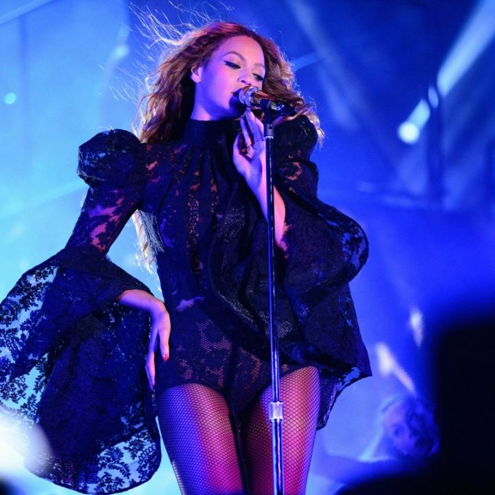 Bey hits the stage in Philly.