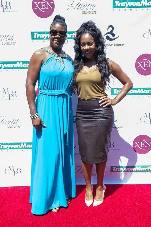 Sybrina Fulton & Miss Diddy