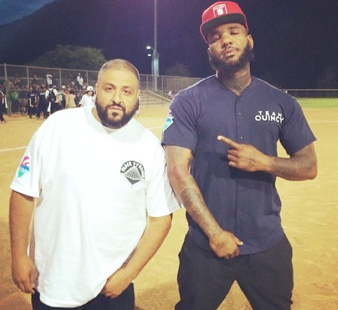 DJ Khaled and The Game show each other some love before going head-to-head