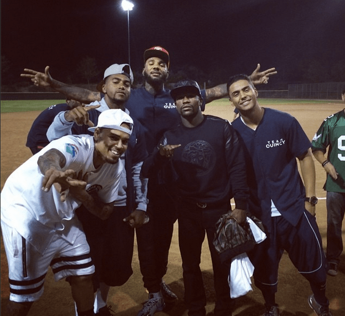 The Game shows that it's all love at the end of the day