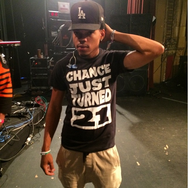 Happy Birthday Chance.