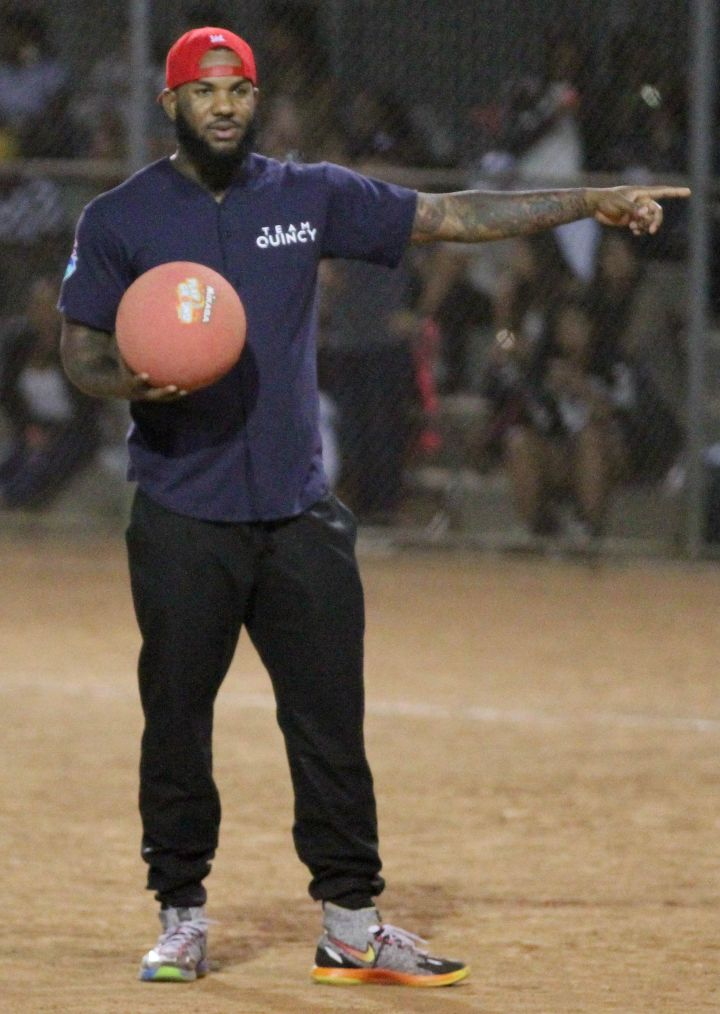 The Game is ready to knock out Team Breezy
