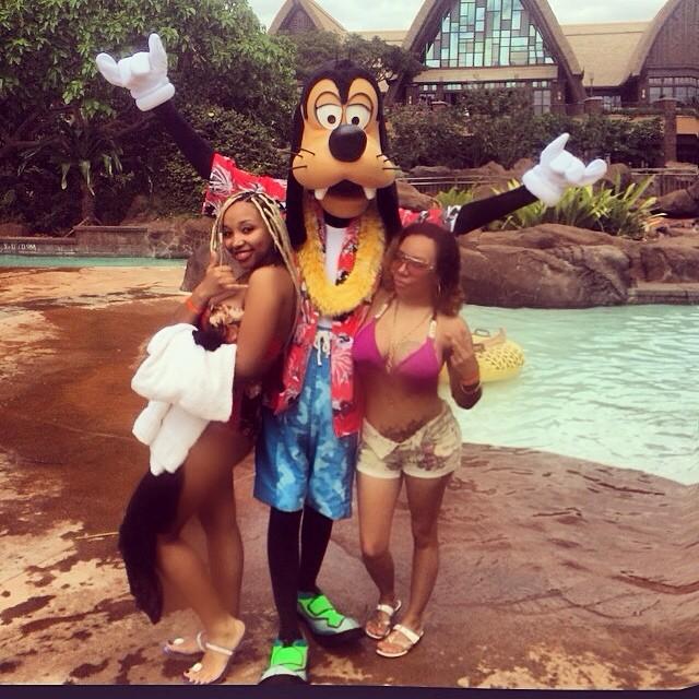 Disney World crew.