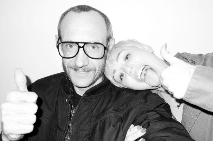 Miley Cyrus & Terry Richardson