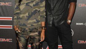 Keri Hilson,Serge Ibaka espys pre party red carpet 2014