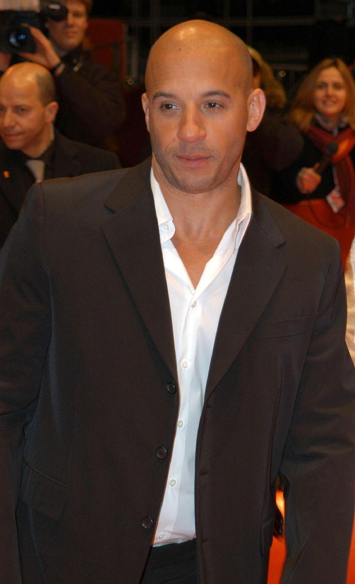 Okay, okay. Vin Diesel in a suit.