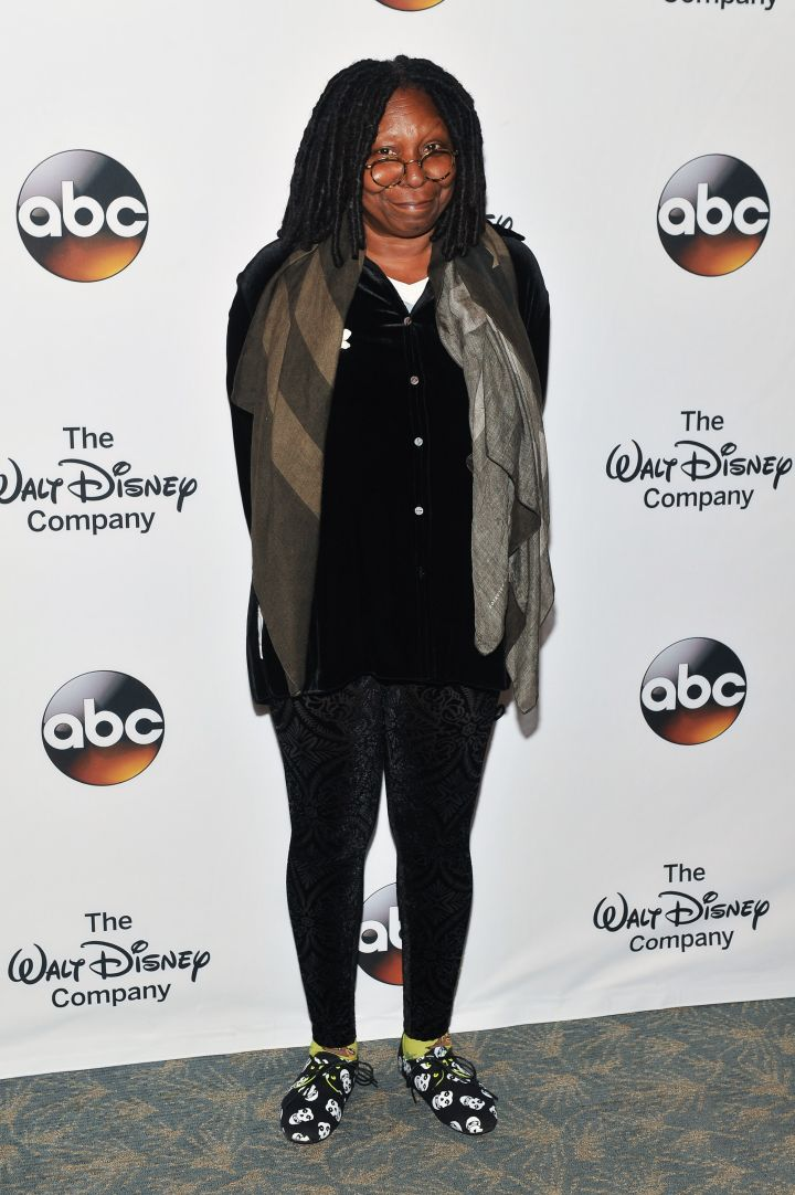 Whoopi Goldberg: The owner of the rare EGOT (Emmy, Grammy, Oscar, Tony Award) was a mortuary beautician in her younger years. She was also a phone sex operator.