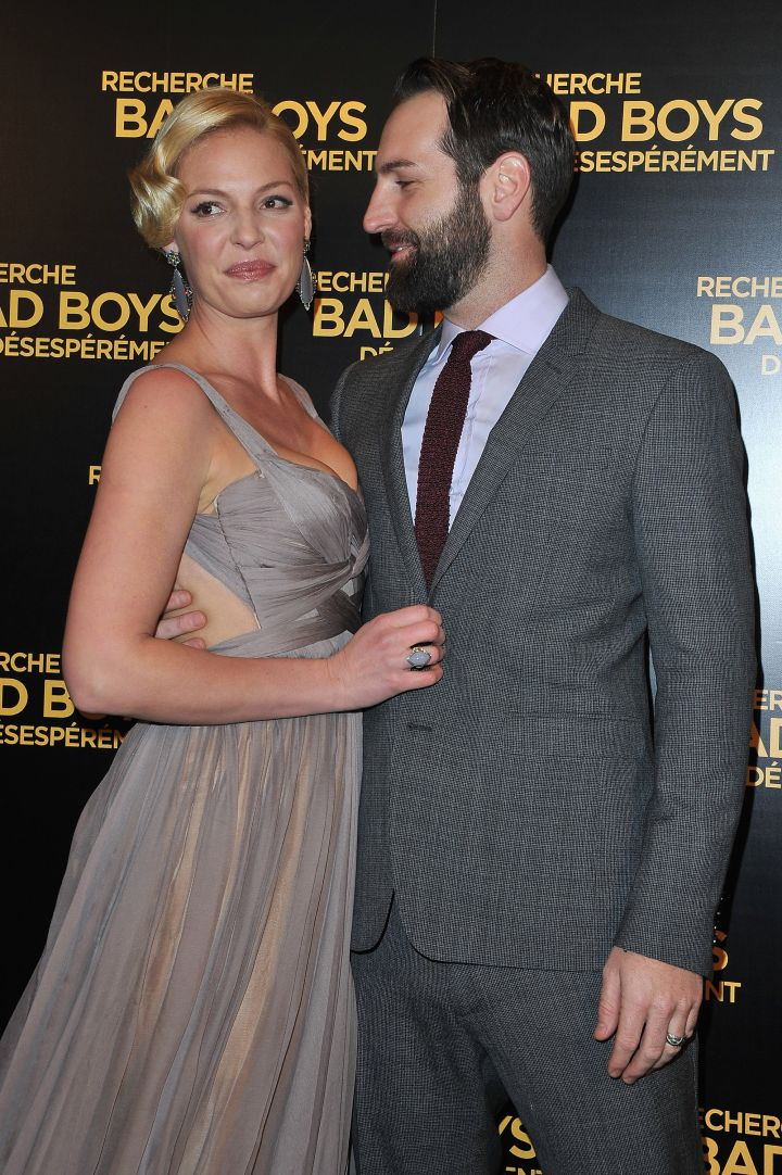 """After starring in his """"Only You"""" music video, Katherine Heigl and Josh Kelley started dating."""