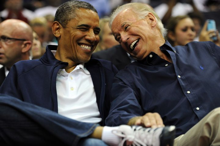 Obama and Biden: Bros for life.