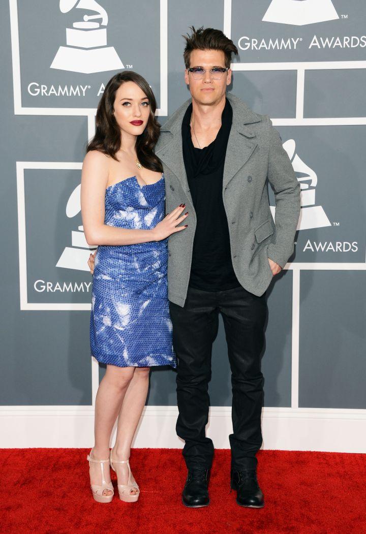"Kat Dennings and Nick Zano met while filming ""2 Broke Girls."""