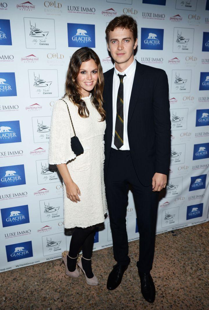"""Rachel Bilson met her baby daddy Hayden Christensen while co-starring in """"Jumper."""""""