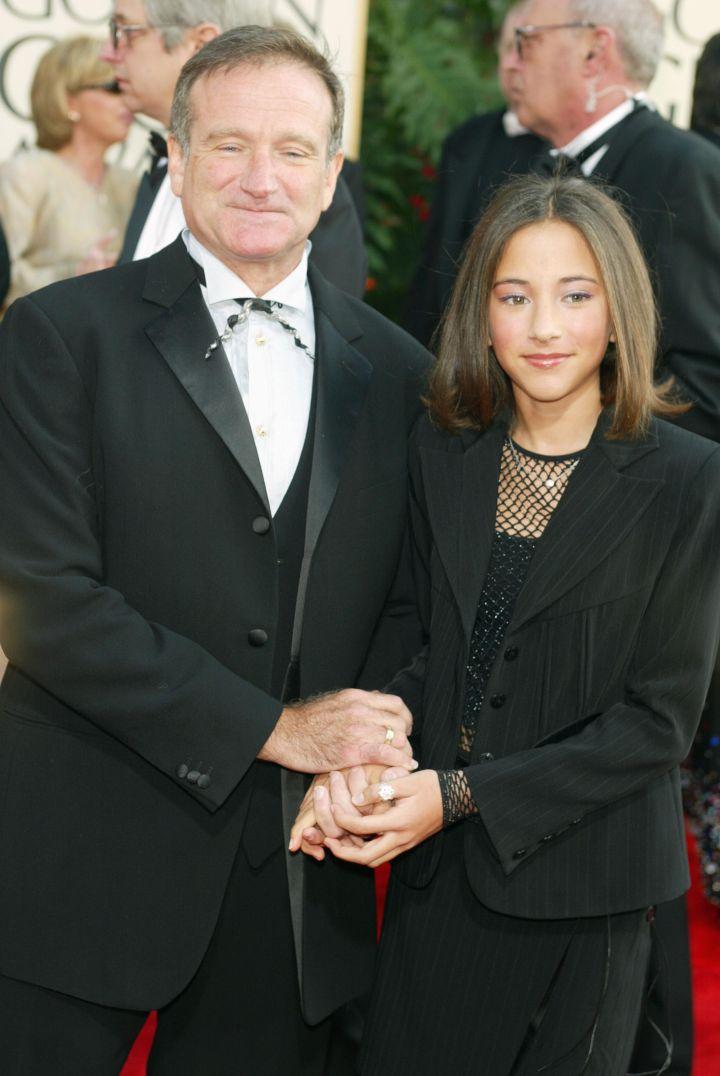 Robin & daughter Zelda, 2001