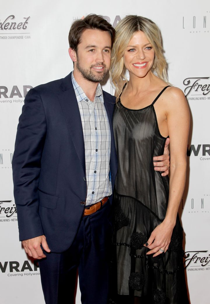 """Rob McElhenney met his wife Caitlin Olson on the set of their hilarious comedy series """"It's Always Sunny In Philadelphia."""""""