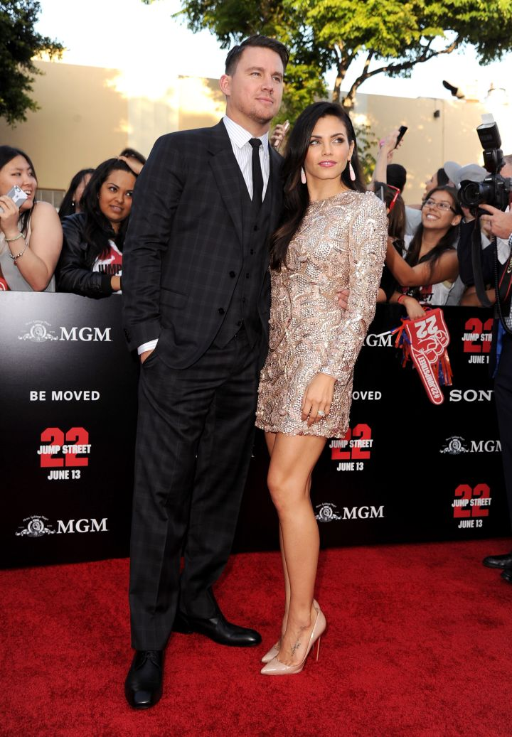 """Channing Tatum danced his way into Jenna Dewan's heart when the pair shot """"Step Up"""" together."""