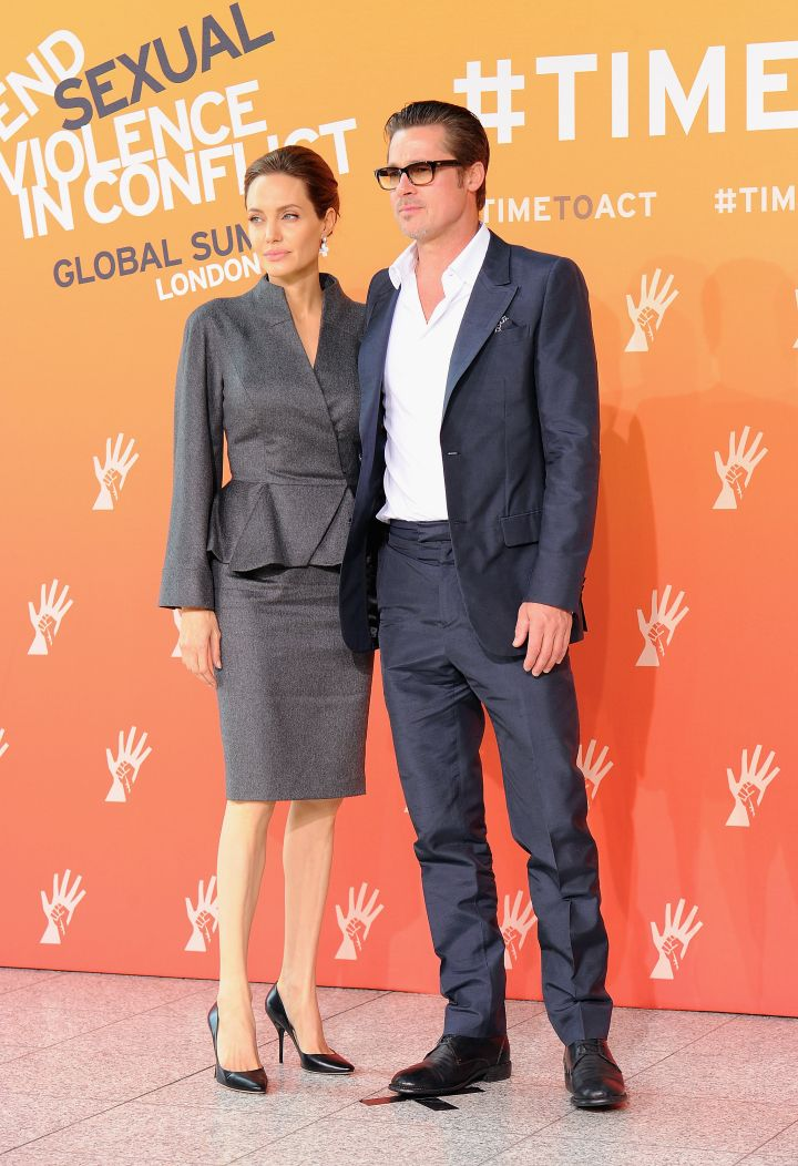 """Brad Pitt and Angelina Jolie fell in love while starring together in """"Mr. and Mrs. Smith."""""""